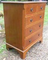 Small Georgian Style Mahogany Chest of Drawers